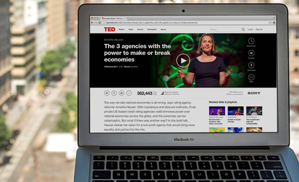 The new TED.com lets you dig deeper into ideas and see your influence on how they spread